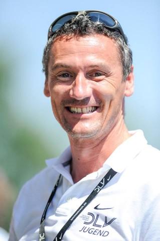 Der Vereinsvorsitzende Dominic Ullrich